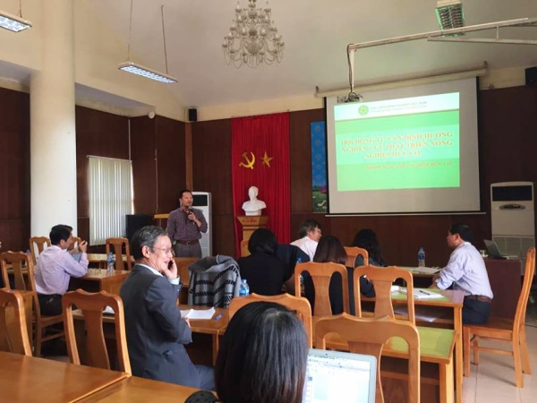 Advisory and Orientation Council Meeting for Organic Agriculture Research and Development in Vietnam