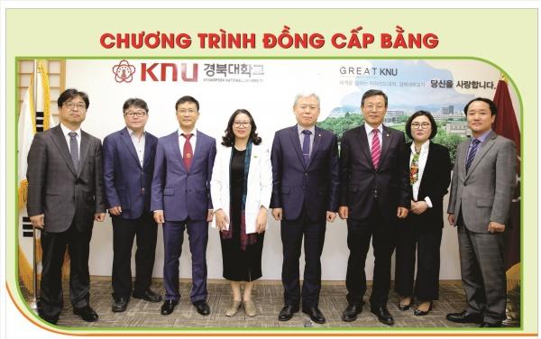Học viện hợp tác với 03 trường đại học của Hàn Quốc, Mỹ thực hiện chương trình đồng cấp bằng