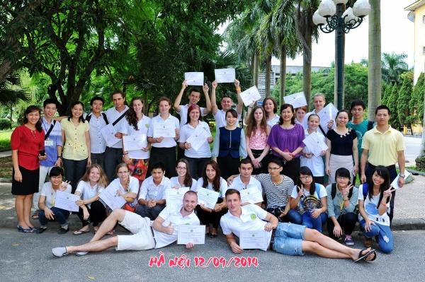 Nhiều du học sinh các nước trên thế giới đến trao đổi và thực tập tại Học viện Nông nghiệp Việt Nam